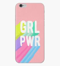 GRL PWR x Pink iPhone Case