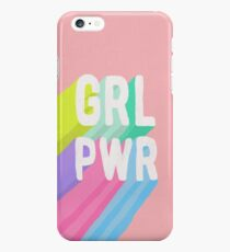 GRL PWR x Pink iPhone 6s Plus Case