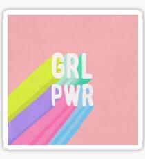 GRL PWR x Pink Sticker