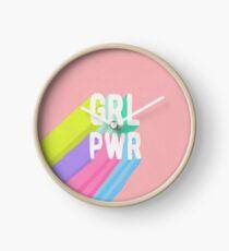 GRL PWR x Rosa Uhr