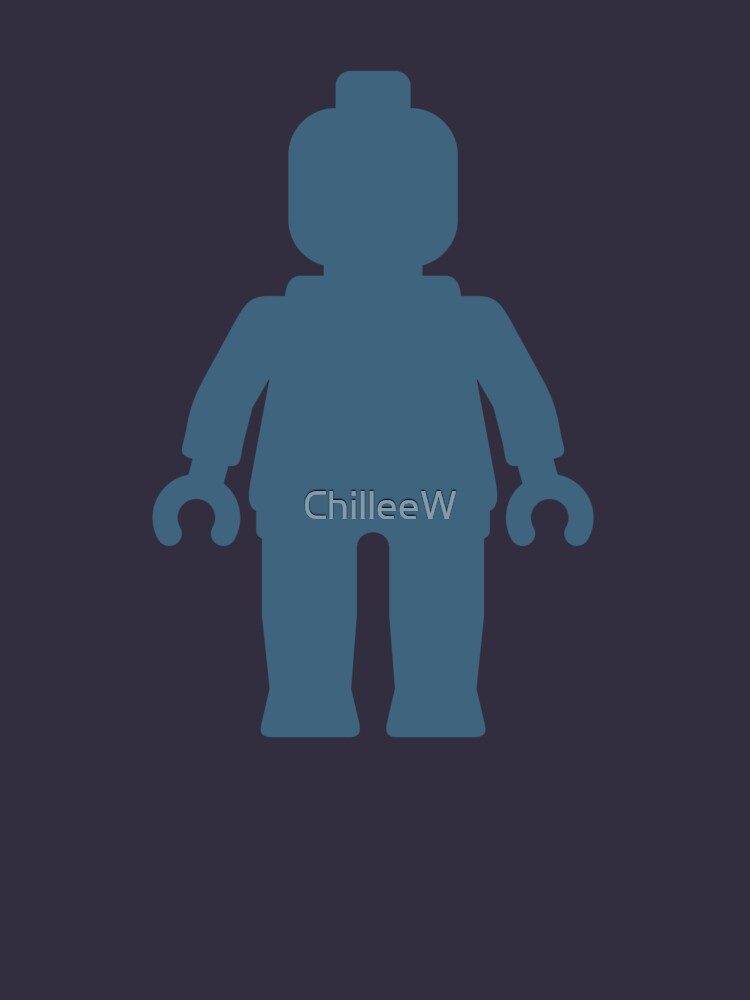Minifig [Navy Blue], Customize My Minifig by ChilleeW