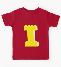 THE LETTER I, by Customize My Minifig Kids Clothes