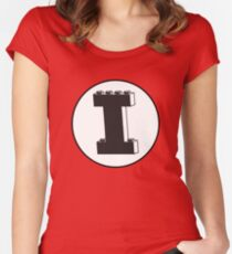 THE LETTER I Women's Fitted Scoop T-Shirt