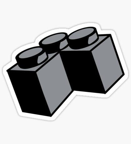 2 x 2 Brick Corner Sticker