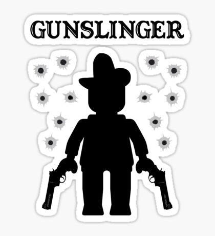 GUNSLINGER, by Customize My Minifig Sticker