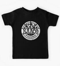 Baaco Pizzeria - White Redux Kids Tee