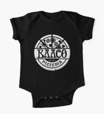 Baaco Pizzeria - White Redux One Piece - Short Sleeve