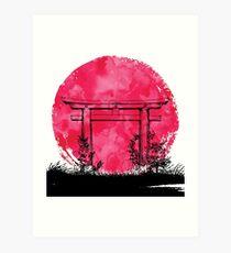 Japan - Tor Kunstdruck