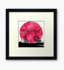 Japan - Gate Framed Print
