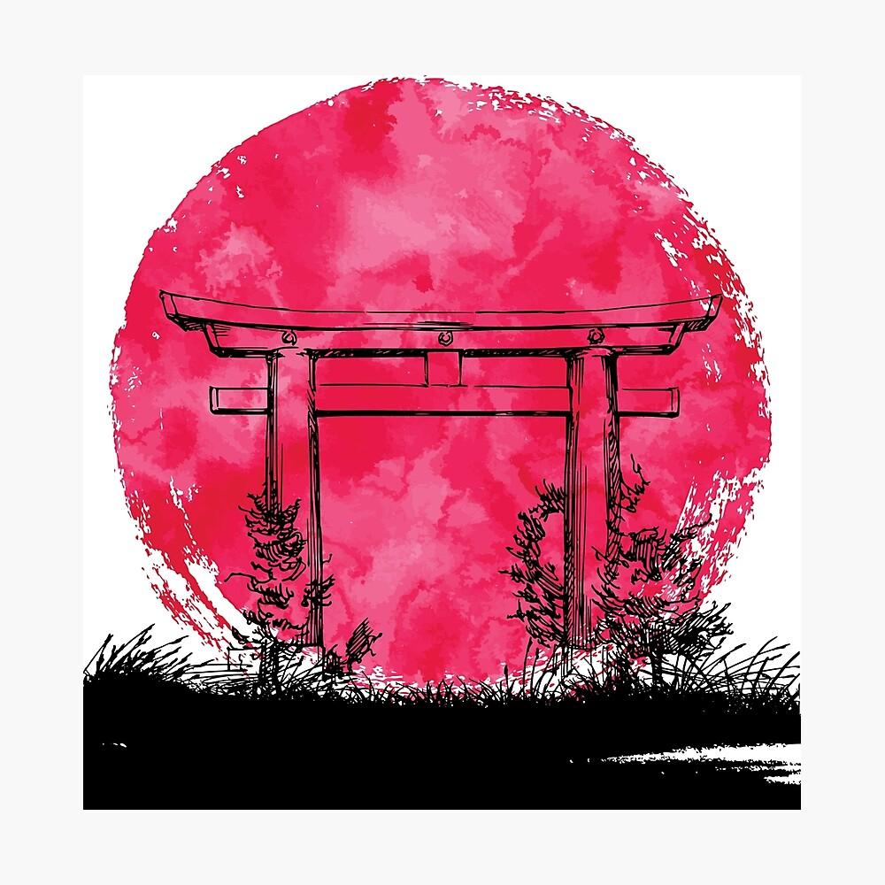 Japan - Tor Fotodruck