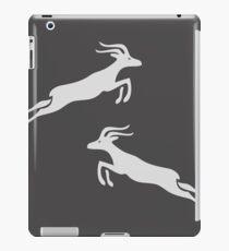 Antilope (Grau) iPad-Hülle & Klebefolie
