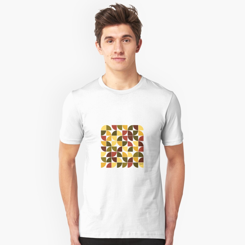 Autumn Forest Leaves Unisex T-Shirt Front