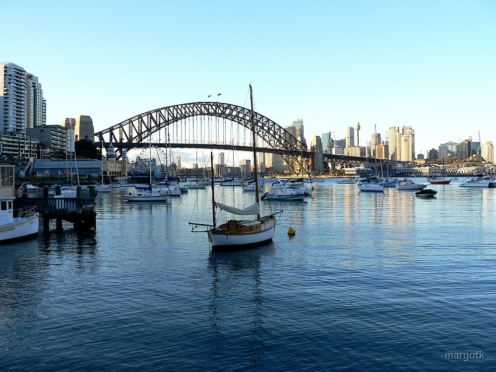 Sydney Harbour Bridge by margotk
