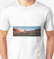Kolob Canyon at sunset Unisex T-Shirt