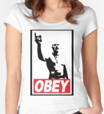 Techno viking Women's Fitted Scoop T-Shirt