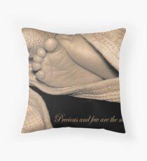 precious and few... Throw Pillow