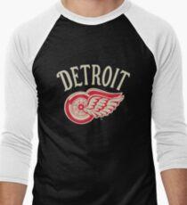 Detroit Red Wings  Men's Baseball ¾ T-Shirt