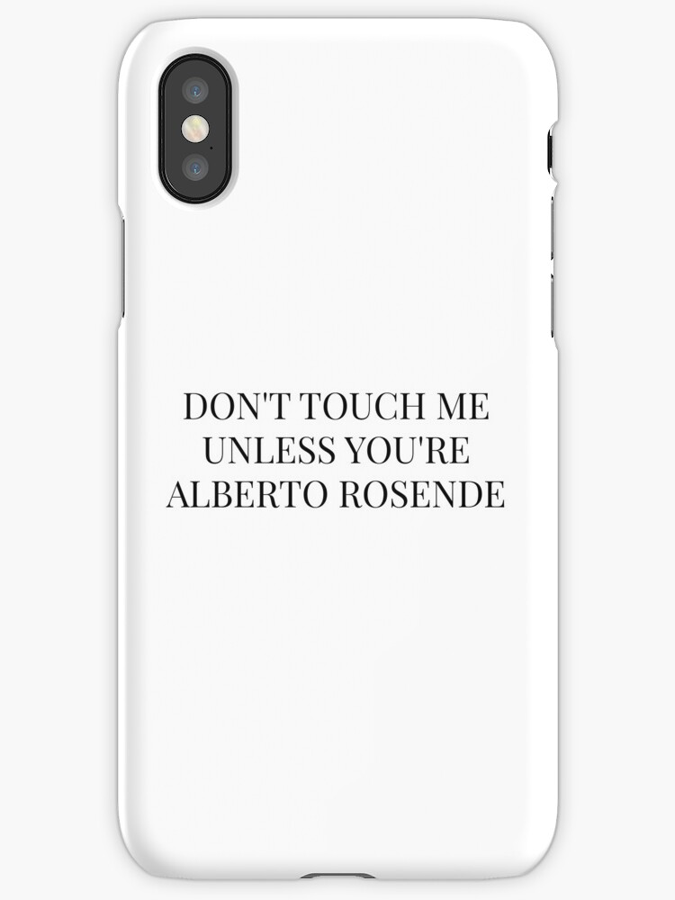 Don't Touch Me Unless You're: Alberto Rosende by FoxGroves
