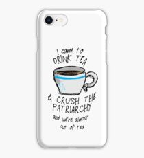 Crush the Patriarchy iPhone Case/Skin