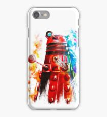 Multicoloured Dalek iPhone Case/Skin