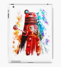 Multicoloured Dalek iPad Case/Skin