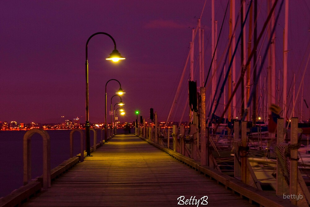 Williamstown Wharf by bettyb
