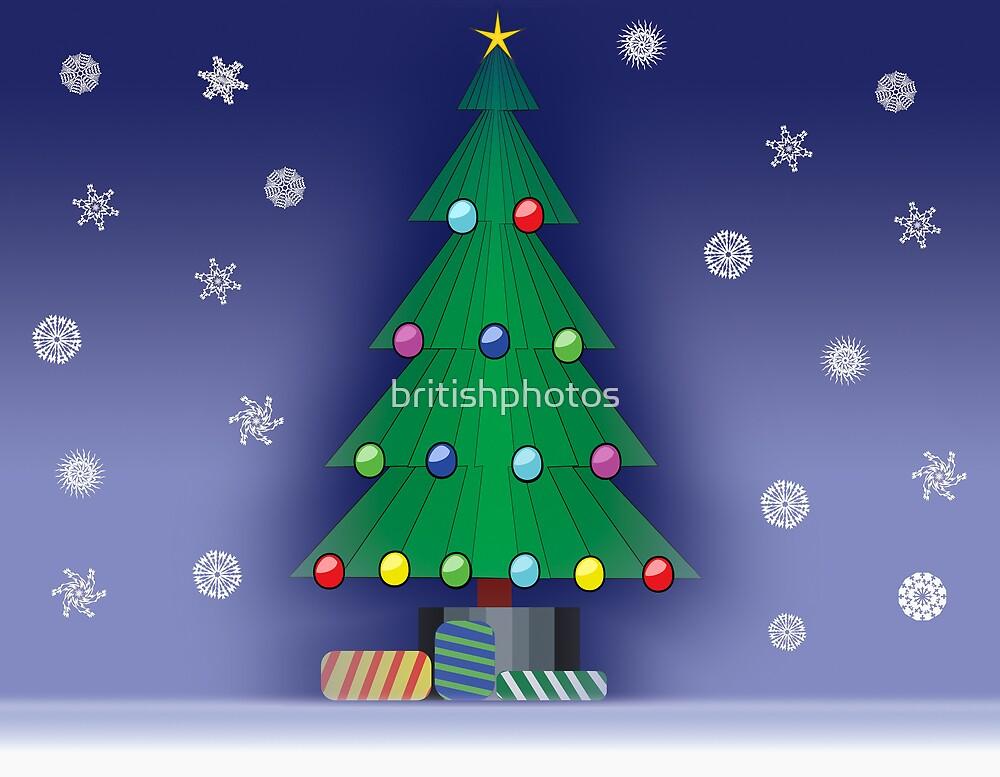 A Christmas scene by britishphotos