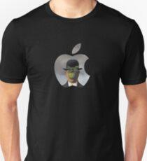 Apple Logo Rene Magritte Unisex T-Shirt