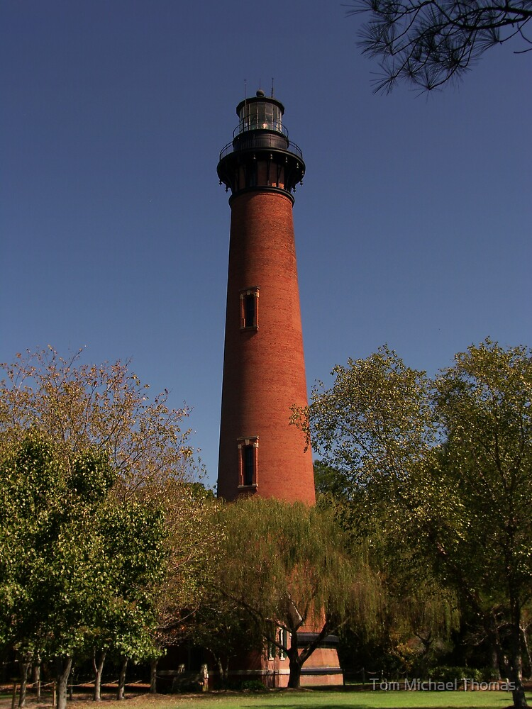 Currituck Beach Lighthouse by Tom Michael Thomas