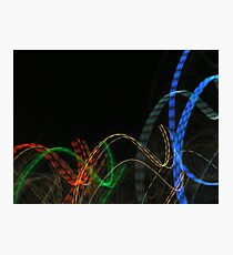 ribbon dance Photographic Print