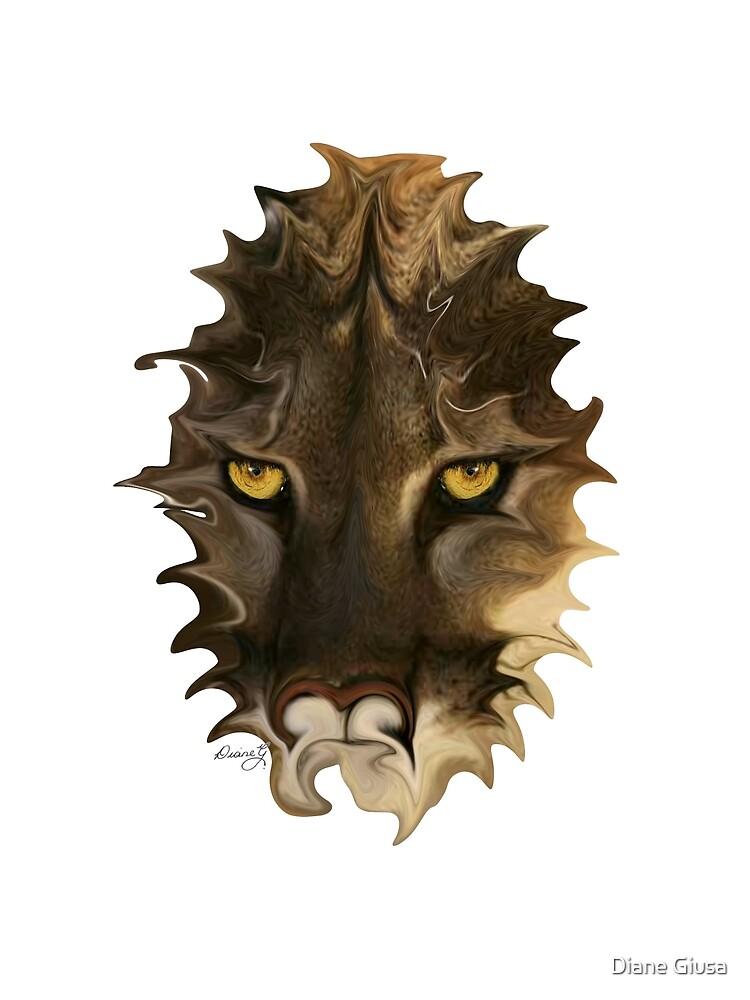 Mountain lion by Diane Giusa