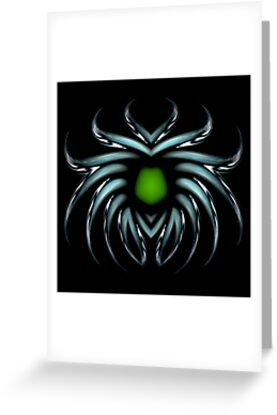 Turquoise spider brooch by pelmof