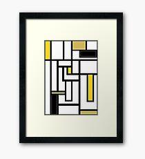 'Modern Vibe 5'  Framed Print