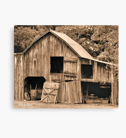 """""""Grandpappy's 'Work-from-Home Jobs Center'""""... prints and products Canvas Print"""
