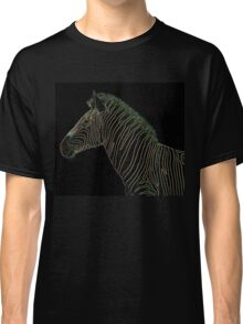 Zebra Background - Fresh New Ideas using Light and Color Classic T-Shirt