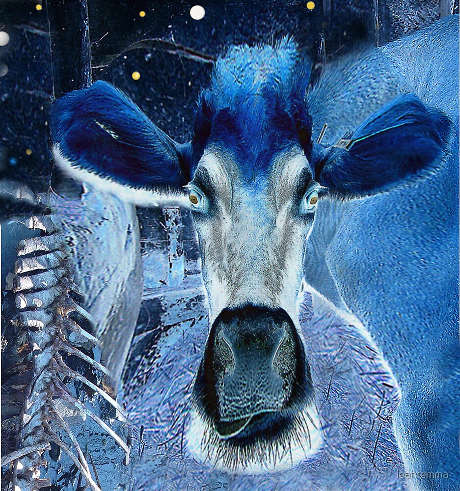 "cow without mushrooms (""Infinite Future Chaos') by leahtemma"