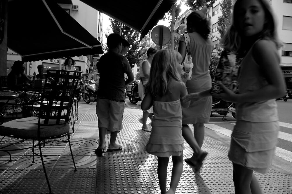 Ibiza Town, Spain by Piotr Jaskiewicz
