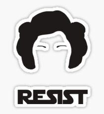 Princess Leia - Resist Sticker