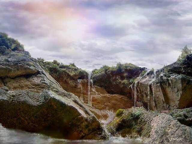 Waterfall haven by TTruelove