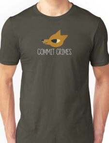 Night In The Woods - Commit Crimes - White Clean Unisex T-Shirt