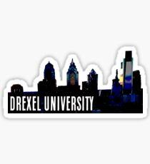 DREXEL UNIVERSITY | PHILLY SKYLINE Sticker