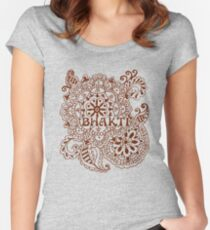 Henna Bhakti Women's Fitted Scoop T-Shirt