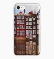 Canals of Amsterdam Print iPhone Case/Skin