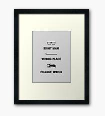 The Half Life Framed Print
