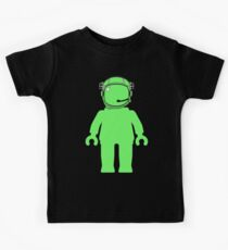 Banksy Style Astronaut Minifigure Kids Clothes