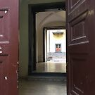 Doorway in Naples by Christine  Wilson