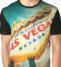 Fractal Scapes - Las Vegas Graphic T-Shirt