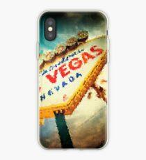 Fractal Scapes - Las Vegas iPhone Case