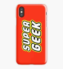 SUPER GEEK iPhone Case/Skin