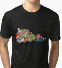 Mario Kart Item fury  Tri-blend T-Shirt